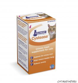 Feliway Cystease (Феливей Цистиз) - 30 капсул для лечения идиопатического цистита кошек