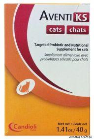AVENTI KS для кошек (Ренал адванс)  - поддержка почек при хронической почечной недостаточности - 40 гр. порошок
